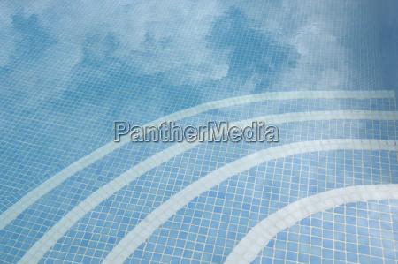 blau wolke reflexion erfrischung deutschland brd