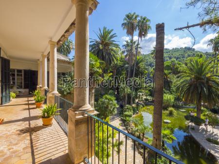 spain mallorca manor jardines de alfabia