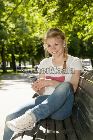 germany berlin portrait of young woman