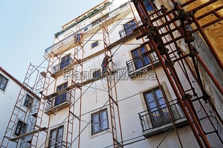 portugal lissabon alfama renovierung eines wohnhauses