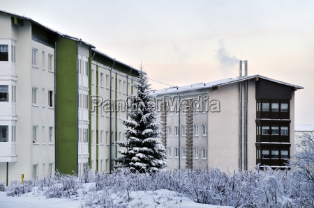 germany thurinigia oberhof apartment building in