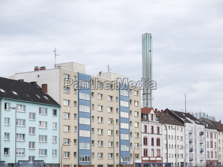 germany offenbach view of facades near