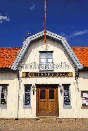 sweden smaland vimmerby theater komedianten