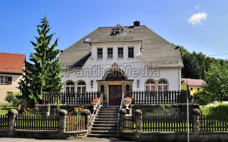 germany saxony tharandt residential house