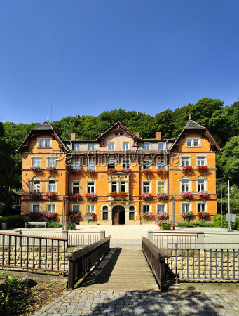 germany saxony tharandt town hall