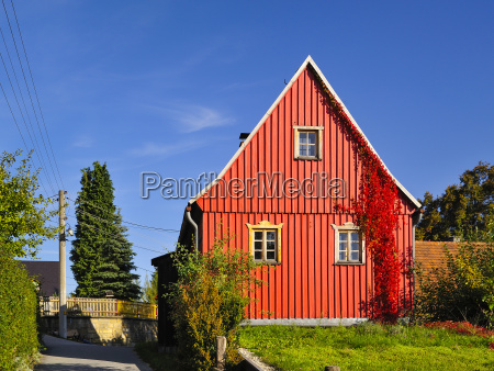 germany saxony sebnitz district saupsdorf red
