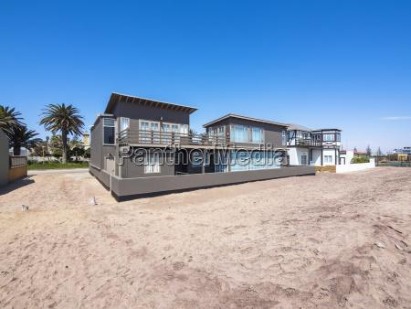 haus gebaeude modern moderne afrika namibia