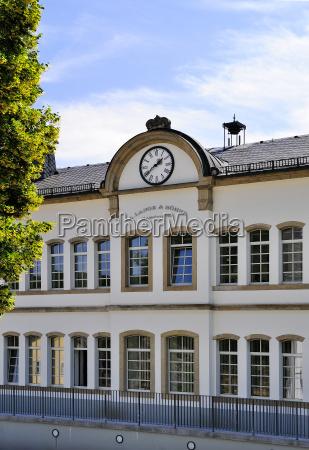 deutschland sachsen glashuette firmengebaeude a lange