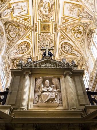 spain andalusia cordoba mezquita catedral baroque