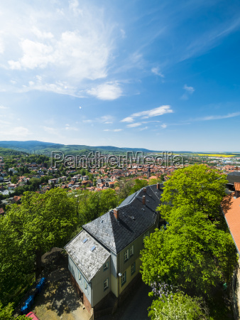 germany saxony anhalt wernigerode old town