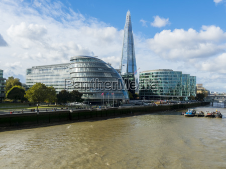 uk london view to city hall