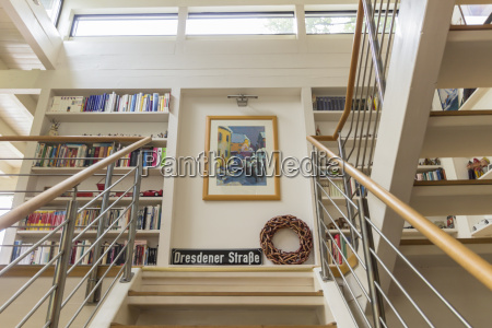 germany one family house interior view