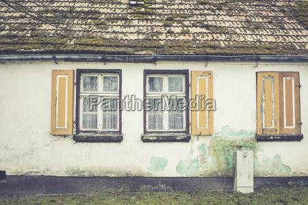 germany brandenburg windows at an old