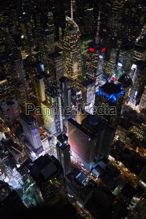 stadt nacht nachtzeit usa outdoor freiluft