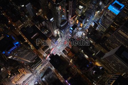 usa new york city times square