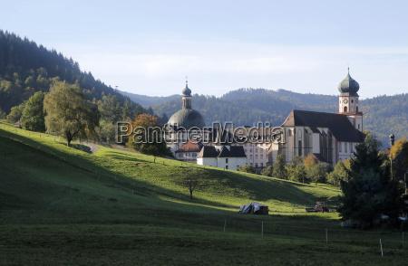 germany baden wuerttemberg st trudpert abbey