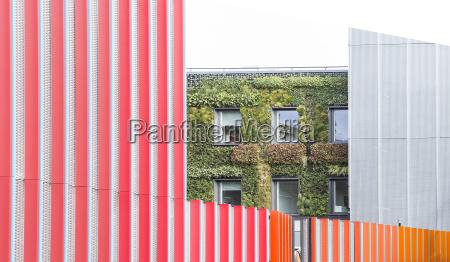 uk london view at facade greening