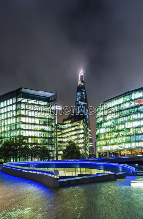 azul paseo viaje ciudad moderno noche