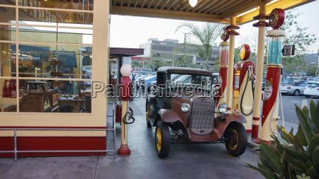 usa california los angeles vintage car