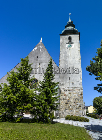 austria upper austria view of basilica