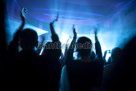crowd beim konzert