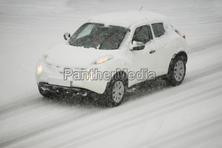 germany white car driving on snow