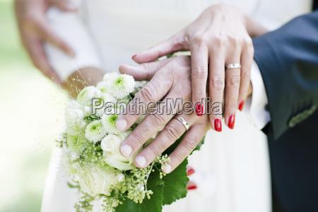 frau hand ring hochzeit heirat trauung