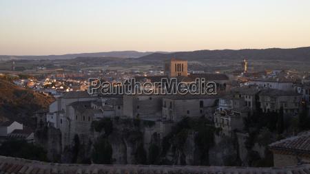 hiszpania kastylia la mancha cuenca cityscape