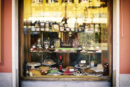 italy liguria riva trigoso shop window