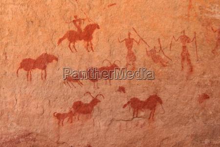 kunst stein pferd ross nationalpark afrika