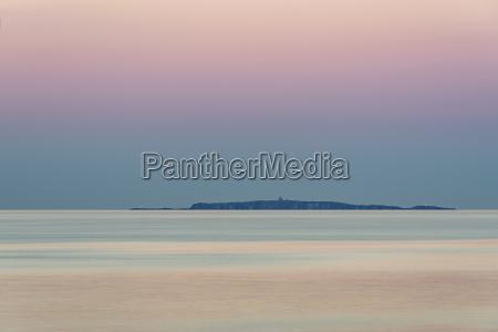 uk scotland isle of may sunset