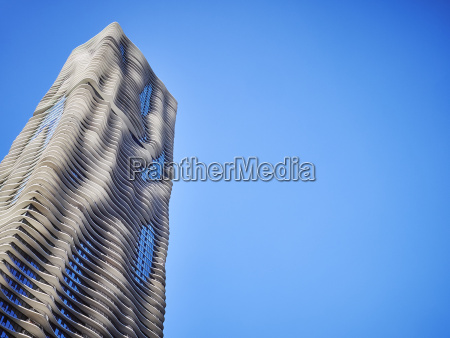 usa illinois chicago aqua tower