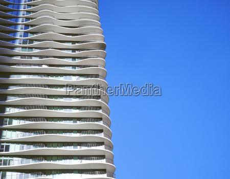 usa illinois chicago aqua tower high