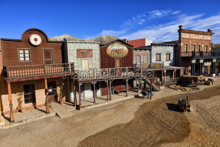 spanien film set von wild west