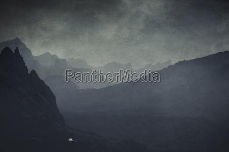 spain mallorca cap formentor mountains and