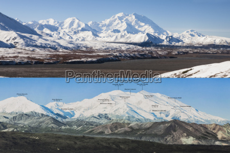 usa alaska view from eielson visitor