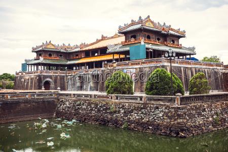 vietnam view of citadel in hue