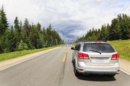 canada british columbia rocky mountains car