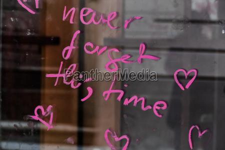 escrever janela reflexao austria fechado palavra