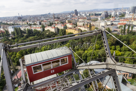 austria vienna cabin of big wheel