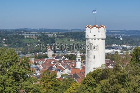 germany baden wuerttemberg ravensburg defence tower