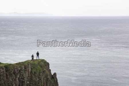 grossbritannien nordirland county antrim menschen auf