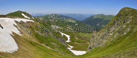 montenegro crna gora view from bjelasica