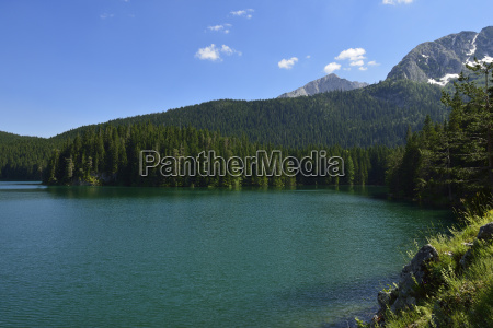 montenegro durmitor national park view over
