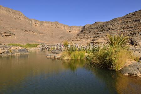 algerien tassili najjer nationalpark iherir wasser