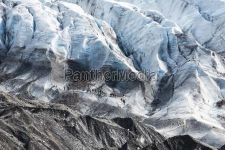 svinafell gletscher bei island