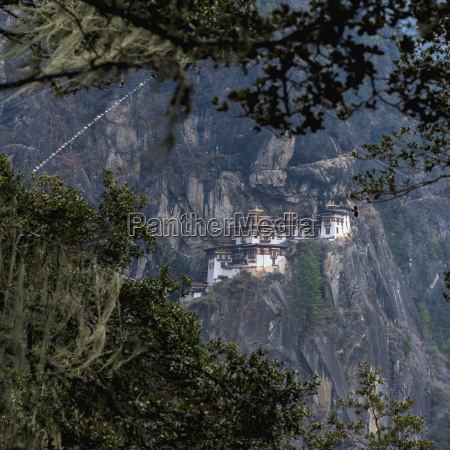 bhutan view of tiger nest temple