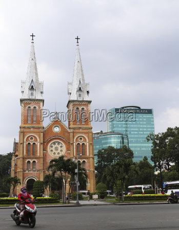 vietnam ho chi minh city cathedral