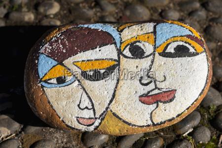 portugal madeira santana malte stein mit