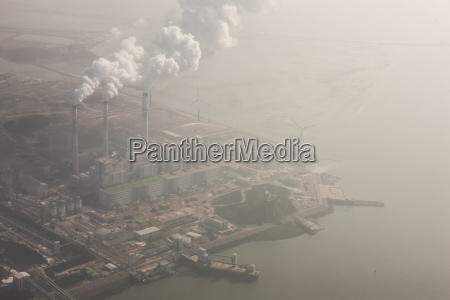 fahrt reisen umwelt industrie kraftwerk wolke